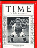 1935 10/7 Mickey Cochrane Tigers Time Magazine