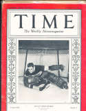 1935 2/11 Lorne Chabot Blackhawks hockey  Time Magazine