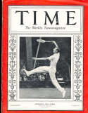 1934 9/3 John Perry Tennis Time Magazine