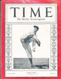 1934 7/9 Lefty Gomez Yankees Time Magazine