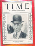 1934 5/7 Edward Riley Bradley Time Magazine