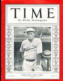 1932 3/28 Gabby Street Cardinals Time Magazine
