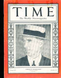 1927 4/11 Connie Mack A's  Time Magazine