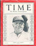 1930 8/25 Wilbert Robinson Dodgers Time Magazine