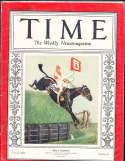 1929 3/18 Billy Barton Horseracing Time Magazine