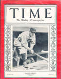 1928 7/9 Roger Hornsby Braves HOF Time Magazine