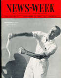 1936 9/12 Fred Perry Tennis Newsweek Magazine  rwa4