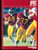 1985 USC vs UCLA Football Program