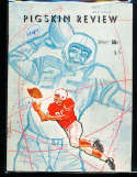 1959 USC vs UCLA Football Program