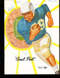 1958 USC vs UCLA Football Program