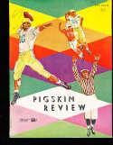 1957 USC vs UCLA Football Program
