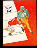 1956 USC vs UCLA Football Program