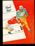 1956 USC vs UCLA Football Program