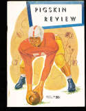 1953 USC vs UCLA Football Program & Press notes