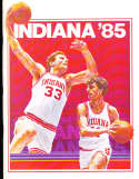 1984 Indiana Steve Alford Basketball Press Media Guide