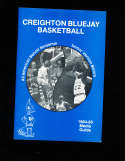 1984 Creighton Benoit Benjamin Basketball Press Media Guide