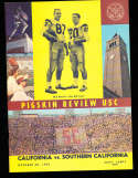 1962 10/20  California vs  USC Football Program