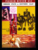 1963 11/15 Oregon State vs USC Football Program