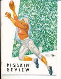 1953 10/17 Oregon State  vs USC Football Program  & press notes