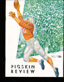 1953 Oregon State  vs USC Football Program  & press notes