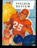 1953 Indiana  vs USC Football Program  & Press Notes