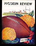 1952 9/26 NOrthwestern  vs USC Football Program & press notes
