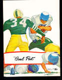 1956 10/5 Oregon vs UCLA Football Program nm copy
