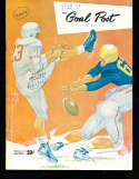 1954 10/16 Stanford vs UCLA Football Program  72 - 0!!!