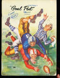 1949 9/30  UCLA vs Oregon Football Program