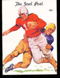 1948 10/16  UCLA vs STanford Football Program & Play by play press notes
