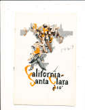 1977 9/24 California vs Santa Clara Football Program