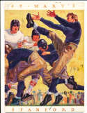 1927 10/1  St. Mary's vs Stanford Football Program