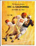 1963 10/26  USC vs California Football Program