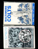 1969 Baltimore Colts Press Media Guide