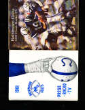 1961 Baltimore Colts Press Media Guide