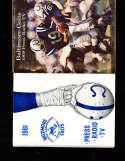 1968 Baltimore Colts Press Media Guide