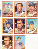 Andy Carey #418 Los Angeles Dodgers 1962 Topps SIGNED