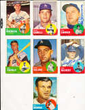 Bill Skowron #180 Los Angeles Dodgers 1963 Topps SIGNED