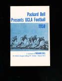1958 Packard Bell Presents UCLA Football program