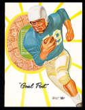 1958 9/20 UCLA vs Pittsburgh Football em Program  & press play by play notes