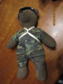 Airborne  US Army Bear with Parachute Plush 20+ inches