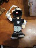 """1994 oakland Raiders  Stuffins plush doll 12"""" tall & tags"""