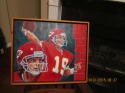 Joe Montana Kansas City Chiefs Hurst original art