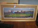 Texas Rangers Arlington Stadium art print 42x20