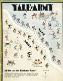 1929 10/29 Yale vs Army   Football program 83 pages unscored