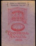 1928 11/29 Duke vs Davidson Thanksgiving football program