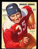 1941 10/4 Arkansas vs TCU football program