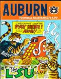 1976 10/13 Auburn vs LSU football program