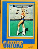 1978 11/4 Florida vs Auburn football program