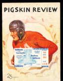 1936 11/26 USC vs UCLA football program & ticket